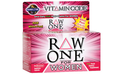 Garden of Life RAW ONE Women's Multivitamin