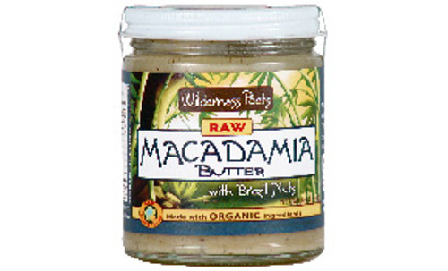 Wilderness Poets Raw Organic Macadamia Butter