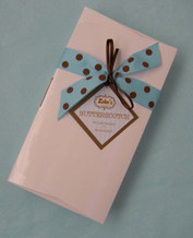 12 oz Gift Box of mouthwatering butterscotch candy complete with ribbon and gift tag.