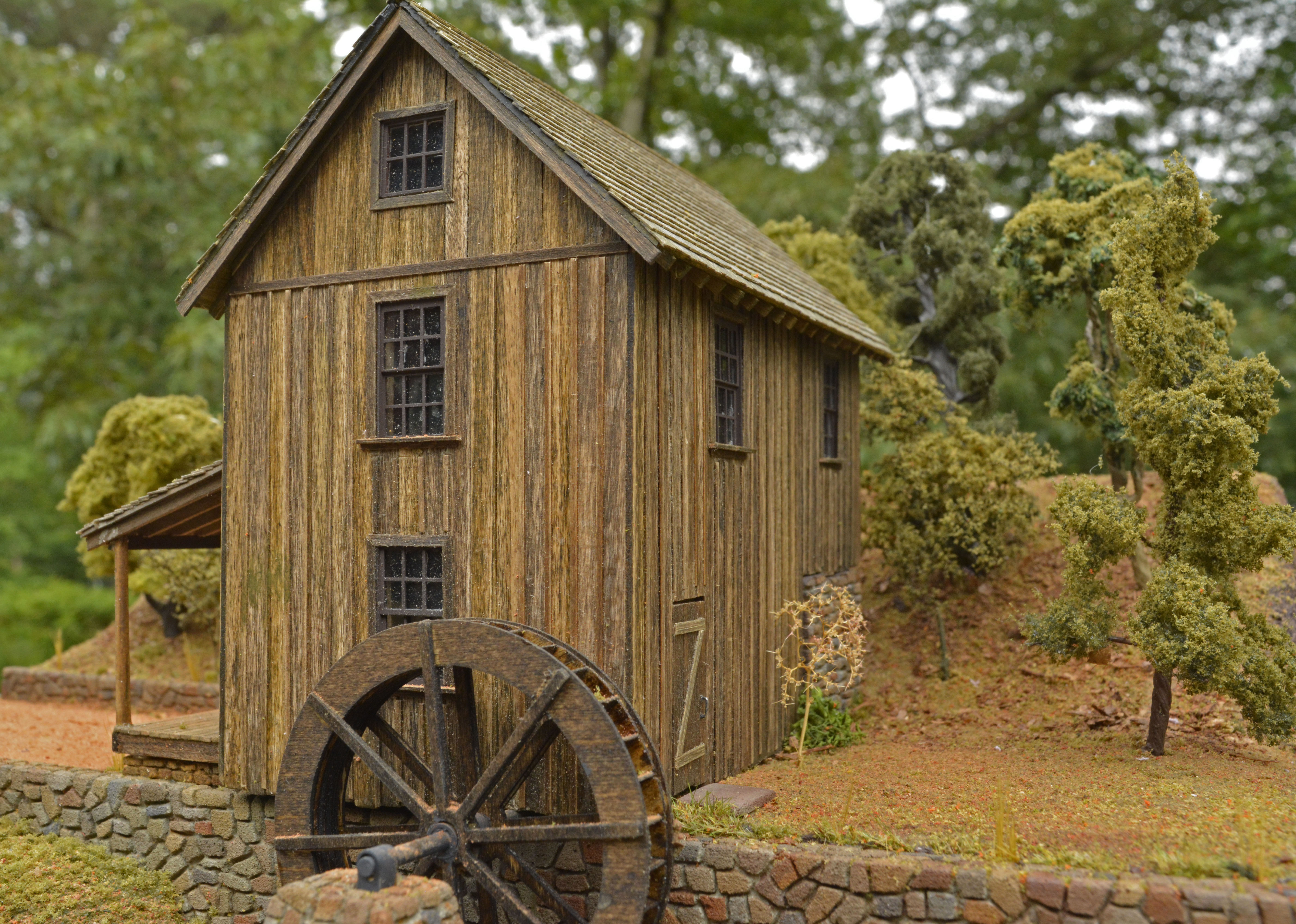 Gresham Mill or Sixes Mill scratch built HO structure