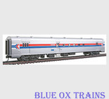 Walthers 6903 HO Scale Amtrak AC&F RPO Baggage Mail Car Phase I