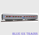 Walthers 9384 HO Scale Amtrak Pullman Standard 10-6 Sleeper Phase I