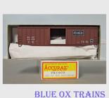 Accurail 5607 HO Frisco 50' Exterior Post Box Car SLSF 42279 Kit