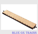 American Model Builders AMB 325 HO Scale MDC Roundhouse 60' Flat Car Laser Cut Wood Deck