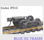 KADEE 510 HO Scale Andrews Cast Sprung Trucks