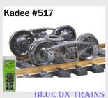 Kadee HO Scale Pennsylvania 2D-F8 50-Ton Trucks #517