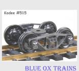 KADEE 515 HO Scale Vulcan Double Truss Trucks