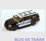 Riverpoint Station 1:87 HO Scale Ford Expedition Police SUV