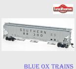 InterMountain 45323 HO RTR Southern 4750 Covered Hopper SOU SRR