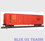 Atlas 20001540 HO Scale Atlantic & Western FMC 5077 Box Car ATW 35035