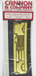 Canon 2005 HO Detail Part Brass Safety Tread Side Step Kit for For Athearn SD40-2 (Pre 2007 Releases)
