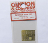 Cannon 2025 HO Scale Detail Part Photo-Etched Brass EMD Side Step Set Athearn MP15AC