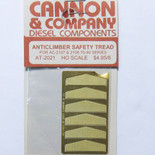 Cannon 2021 HO Scale Detail Part Photo-Etched Brass Fits #2107 & 2108 70/90-Series Anticlimber