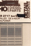 Detail Associates 2717 Air Grilles - Dash 8-40C HO Scale