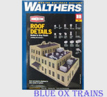 Walthers 3733 Roof Details Kit HO Scale