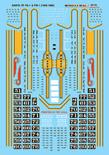 Microscale Decal 87-72 Santa Fe PA Diesels (1946-1969) Diesel - PA / PB