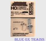 Detail Associates 1510 MU Receptacles Head-End Power Set Ho Scale