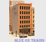 Lunde Studios 26 The McAdam Building Resin Kit HO Scale