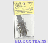 Plano Model 452 Walkway Kit for Extended Vision Cabooses Morton Pattern - Fits Atlas Cars Ho Scale