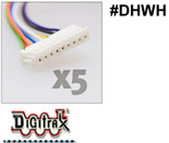 Digitrax DCC DHWH Wiring Harness 5 Pack