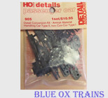 Detail Associates 905 Amtrak Material Handling Car Detail Kit Type II Con-Cor Type I HO Scale