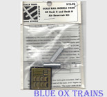 Scale Rail Models 400 Dash 8 or 9 Air Reservoir kit HO Scale