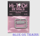 Hi-Tech Details 6008 Waste Fluid Containment Tank HO Scale