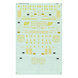 Microscale Decal 87-546 Wisconsin Central WC Box Cars HO Scale