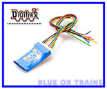 Digitrax DH163D HO Mobile DCC Decoder Fits Many Locomotives