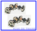 Proto Drive Gear Axles #584408 Life Like Replacement Walthers