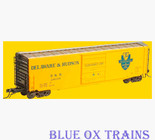 KADEE 6362 K42 Delaware & Hudson 50' PS-1 Boxcar D&H 29135 HO Scale