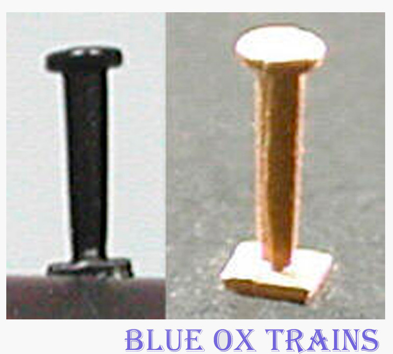 Cal Scale 546 Diesel Radio Antenna pkg-2 Western Pacific Style Firecracker (Brass Castings) Ho Scale
