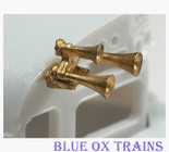 Cal Scale 577 Airhorn Leslie 3-Chime S3L (Brass Castings) Ho Scale