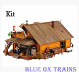 Woodland Scenics #5194 Mo Skeeters Bait & Tackle - Kit HO Scale