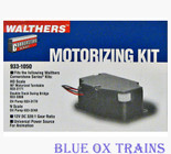 WALTHERS 933-1050 HO/N Turntable - Oil Pump - Bridge Motor Motorizing Kit