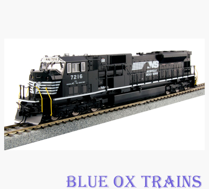 Kato HO 37-6375-LS Norfolk Southern SD80MAC NS 7216 With ESU Sound & DCC HO Scale