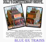 Bar Mills 1240 HO Dolly's Confectionery Shoppe Laser-Cut Wood Kit