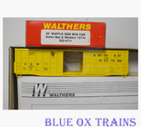 Walthers 932-4711 HO Green Bay & Western 50' Waffle Boxcar Kit GBW 2710