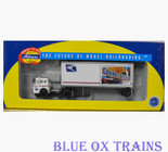 Athearn USPS Connecticut State Ford C Tractor Truck & 28' Trailer HO Scale