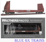 Walthers Proto 920-104516 Norfolk Southern 50' Sieco Pulpwood Flat Car NS 111330 HO Scale