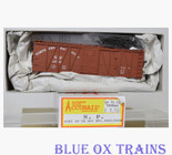 Accurail 4503 HO Northern Pacific 40' Outside Braced Box Car NP 14710 Kit