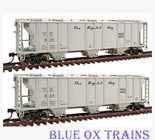 Walthers HO Scale 932-27967 Central of Georgia PS2 2893 Covered Hopper 2 Pack COG 939 904