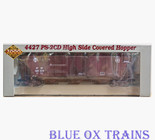 Proto 2000 21405 RTR Santa Fe 4427 PS-2CD Covered Hopper ATSF 308573 Ho Scale