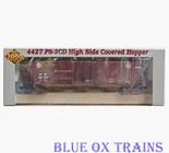 Proto 2000 21405 RTR Santa Fe 4427 PS-2CD Covered Hopper ATSF 308573 Ho Scale