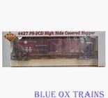 Proto 2000 21406 RTR Santa Fe 4427 PS-2CD Covered Hopper ATSF 307672 Ho Scale