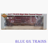 Proto 2000 21528 RTR Santa Fe 4427 PS-2CD Covered Hopper ATSF 308738 Ho Scale