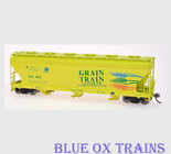 InterMountain 47092 Grain Train 4650 Covered Hopper PCC HO Scale