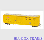 InterMountain 47506 Green Bay & Western GB&W 5277 Boxcar HO Scale