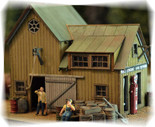 BAR MILLS 402 HO Scale Staton Marine Laser-Cut Kit