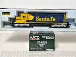 KATO HO EMD SD-40 Locomotive Santa Fe ATSF SD40 37-6328